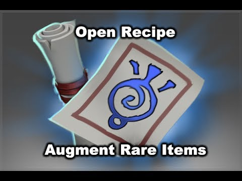items - Open Cursed Recipe Materialize Item: http://www.youtube.com/watch?v=jZ3Fo6LA4Og Open Recipe Polymorph Mythical Items: http://www.youtube.com/watch?v=e7BkHAvMBOs.