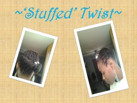 #51 'Stuffed Twist' Style for Thin/ Fine Natural Hair