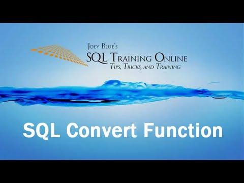 Sql Training Online - Sql Convert Function