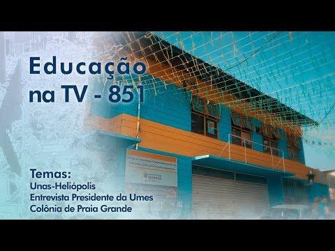 Unas-Heliópolis / Entrevista Presidente da Umes / Colônia de Praia Grande
