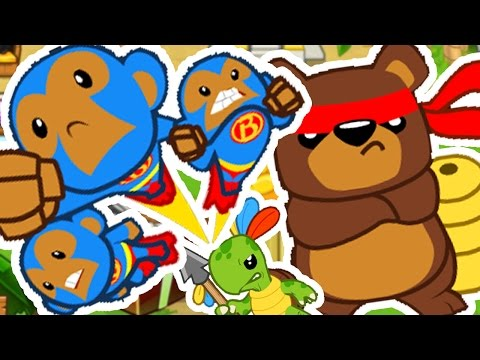 SPECIAL AGENTS CHALLENGE *BEST SPECIAL STRATEGY* - BLOONS TOWER DEFENSE 5