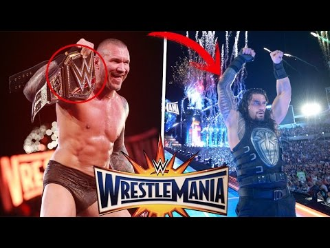 7 Errores De WWE Wrestlemania 33