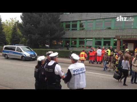 Sơ tán học sinh và trẻ mẫu giáo ở Hamburg (Đức) vì báo động xả súng