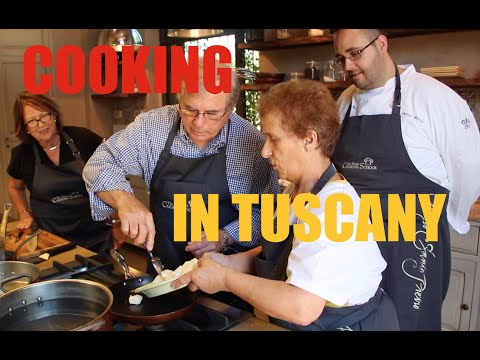 Tuscan Cooking With The Borgo Cooking School