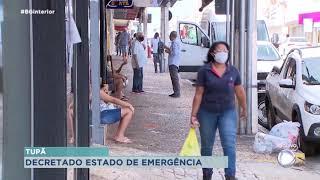 Prefeitura de Tupã declara estado de emergência por conta da covid-19