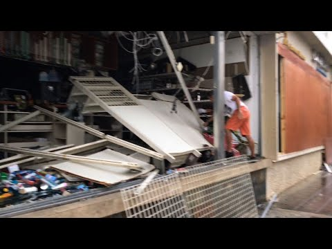 Maria Destroys Homes, Knocks Out Power in PR