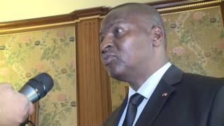Directeur général de la FAO et  Son Excellence Monsieur Faustin-Archange Touadéra