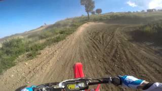 4. Honda CR 250R TWO STROKE(2006) test#1