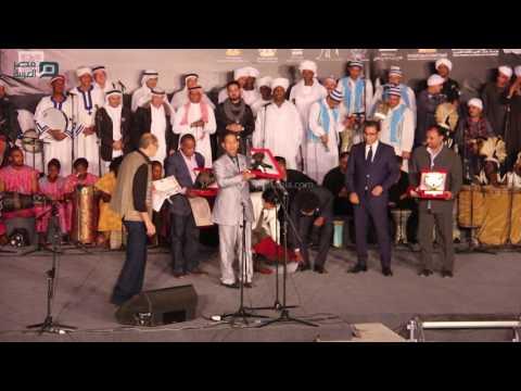 مصر العربية | جانب من التكريمات بختام مهرجان الطبول