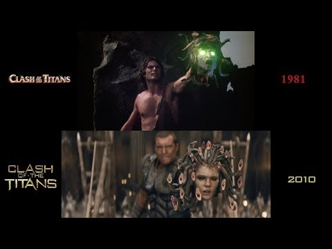 Clash Of The Titans (1981/2010): Side-by-side Comparison