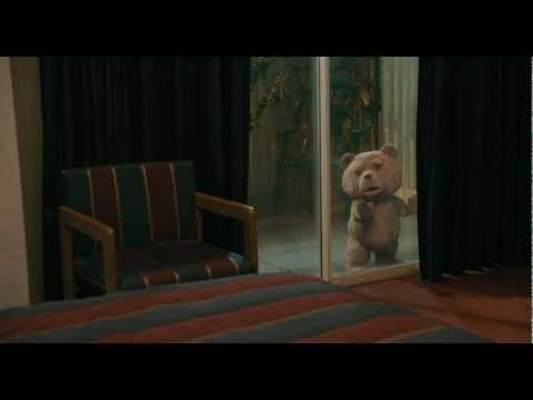 Teddy Bear fighting with Mark Wahlberg - TED.. Funny Fighting Scene.