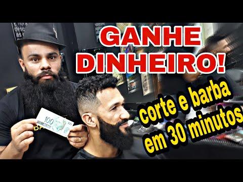 CORTE E BARBA EM 30 MINUTOS (TUTORIAL) - BARBEIRO BARBOSA