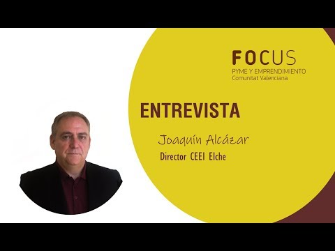 Entrevista a Joaquín Alcázar en Focus Pyme Alto y Medio VInalopó 2019[;;;][;;;]