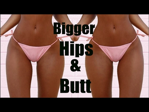 HOW TO GET AN HOUR GLASS FIGURE WIDER HIPS & BIGGER BUTT NATURALLY (REALLY WORKS)