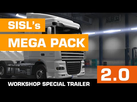 SiSL's Mega Pack v2.5.1 for ATS 1.6+