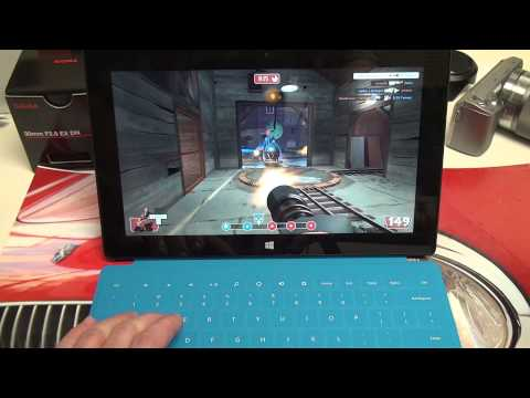 Microsoft Surface Pro Gaming Demo