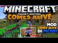 MOD COMES ALIVE DI MCPE !!? + CARA MEMASANGNYA - Minecraft Pe Mod Showcase #2
