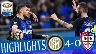 Video Inter - Cagliari 4-0- Highlights - Giornata 33 - Serie A TIM 2017/18 MP3, 3GP, MP4, WEBM, AVI, FLV Mei 2018
