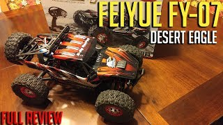 """Review of the FEIYUE FY-07 4WD """"Desert Eagle"""" Buggy. (Price is a bit more than I had stated in my video, I got it mixed up with..."""