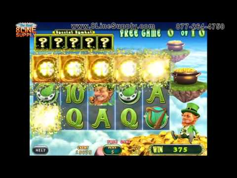 Golden Shamrock by IGS Video Slot / 8Liner Game / Cherry Master