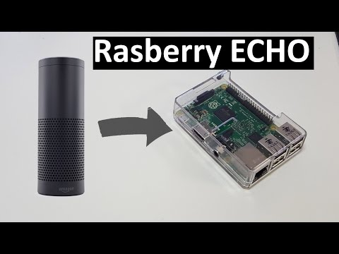 amazon diy electronics raspberry-pi voice-control