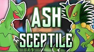 ASH SCEPTILE  Nueva forma: TURBO SCEPTILE ¡Espero que os mole el vídeo, y sobre todo el Sceptile forma Ash, que me ha llevado su curro! Aquí os dejo el víde...