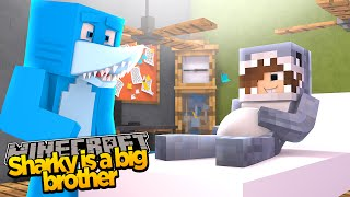 Minecraft ADVENTURE - SHARKY & SCUBA STEVE - SHARKY'S MAM IS HAVING A BABY!??