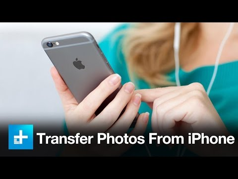 How to transfer photos from the iPhone