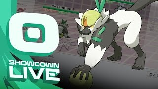 Pokemon Sun and Moon! Showdown Live: Enter Passimian - Passimian Showcase! by PokeaimMD