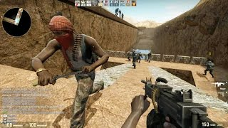 Counter Strike Global Offensive Zombie Escape mod online gameplay on ze_boatescape101_p map