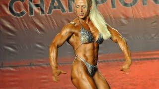 Olga Puzanova                             Female Bodybuilder 2014 Ifbb Pbw Tampa Pro Women S Bodybuilding