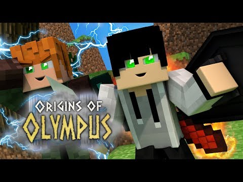 THE SON OF ARES! | Origins of Olympus | EP 1 (Minecraft Percy Jackson Roleplay)