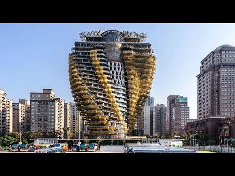 TOP 10 Edificios Futuristas Más Asombrosos Del Mundo (видео)