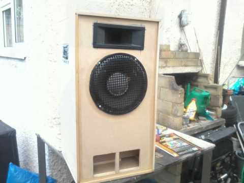 speakers - I built these speakers ,becose I run my own mobile Disco and would normaly take 4 speakers inc 2 subs ,wich were very big and heavy ,so have been looking to ...