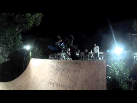 Jason Lopez - Jason Lopez throws down a quick edit with a bunch of friends at his newly built mini ramp.