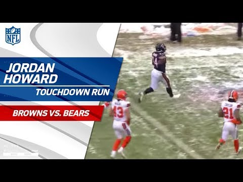 Video: Jordan Howard Caps Off Chicago Drive w/ 2nd TD of the Day! | Browns vs. Bears | NFL Wk 16