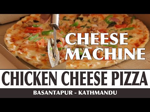 (Delicious Pizza | Cheese Machine Basantapur ... 4 min, 54 sec.)