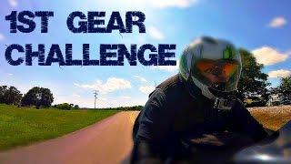8. 1st Gear Challenge (2015 Suzuki Hayabusa)