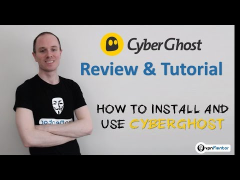 🥇 CyberGhost Review & Tutorial 2019 ⭐⭐⭐