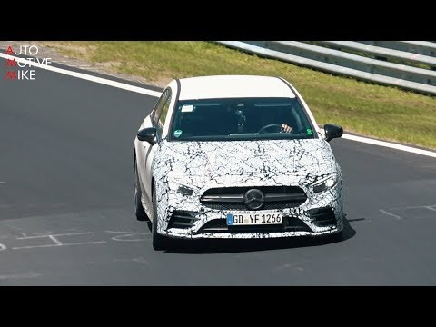 2019 MERCEDES-AMG A35 SPIED TESTING AT THE NÜRBURGRING