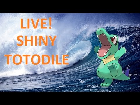 Live Shiny Totodile On Soulsilver