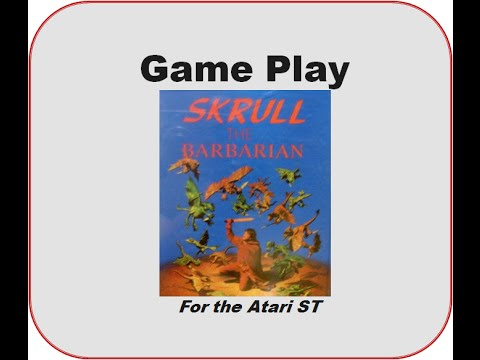 barbarian game atari st