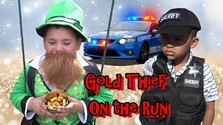 COPS CALLED on CRAZY Leprechaun!