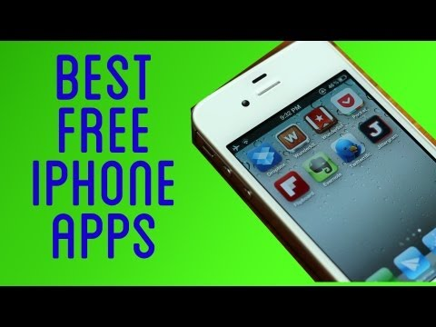 free iphone apps - Follow me: http://twitter.com/pizzafootbal Add me on Google+: http://bit.ly/pfgoogleplus In this video I go over my best free iPhone apps. These are my top f...