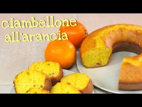 ricetta - ciambellone all'arancia!