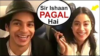 Video Jhanvi Kapoor Makes FUN Of Ishaan Khattar - Funny Video| Dhadak Movie Song Launch MP3, 3GP, MP4, WEBM, AVI, FLV Juni 2018