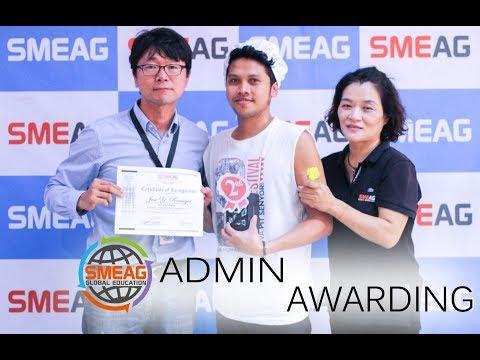 [Learning English] English Academy in Cebu, Philippines : Admin Awarding