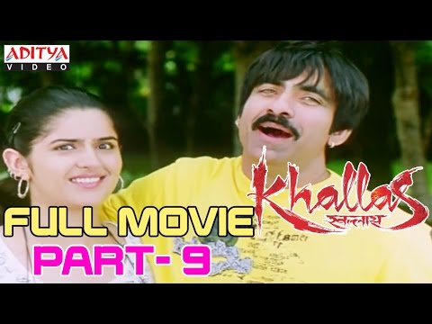 Video Khallas Hindi Movie Part 9/12 Raviteja, Richa Gangopadhay, Deeksha Seth download in MP3, 3GP, MP4, WEBM, AVI, FLV January 2017