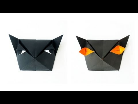 Halloween Tutorial - 010 -- Cat-Head Box