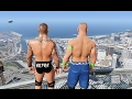 GTA 5 Randy Orton John Cena Compilation (GTA 5 Mods Fails Funny Moments)